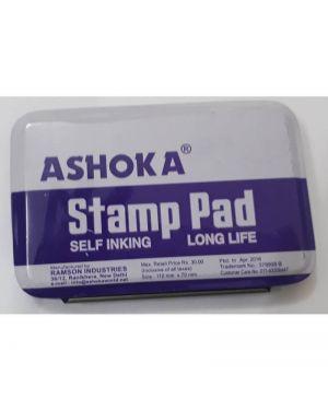 Stamp Pad 110X70mm  Ashoka (Mediam Size ),Black